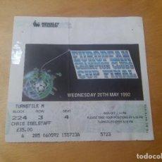 Coleccionismo deportivo: ENTRADA FINAL COPA DE EUROPA 1991 1992 - 91 92 - WEMBLEY - BARCELONA 1 SAMPDORIA 0- (LEER). Lote 126571847