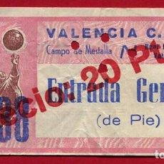 Collezionismo sportivo: ENTRADA FUTBOL, VALENCIA CF REAL BETIS , ANTIGUA ,ORIGINAL , EF3804. Lote 128466167