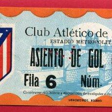 Coleccionismo deportivo: ENTRADA FUTBOL, CLUB ATLETICO MADRID , ANTIGUA ,ORIGINAL , EF3808. Lote 128466567