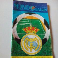Coleccionismo deportivo: PROGRAMA OFICIAL DEL PARTIDO REAL MADRID R. SPORTING GIJON 1976. Lote 128735096