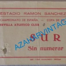 Coleccionismo deportivo: SEVILLA, 1981, ENTRADA COPA DEL REY, SEVILLA ATLETICO - HERCULES,C.F.. Lote 129552943