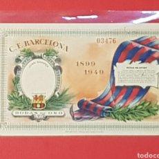 Colecionismo desportivo: FC BARCELONA ENTRADA N°3476 BODAS DE ORO 1899-1949 EN BUEN ESTADO FUTBOL. Lote 130339603