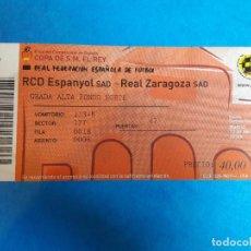 Coleccionismo deportivo: ENTRADA FINAL COPA DEL REY RCD ESPANYOL REAL ZARAGOZA 2006. Lote 131521058