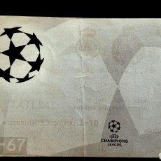Coleccionismo deportivo: ENTRADA CHAMPIONS REAL MADRID OPORTO 1997. Lote 131953769