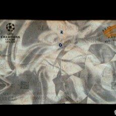 Coleccionismo deportivo: ENTRADA CHAMPIONS REAL MADRID BAYERN DE MUNICH 2002. Lote 131954681
