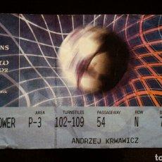 Coleccionismo deportivo: ENTRADA FINAL CHAMPIONS GLASGOW 2002 REAL MADRID BAYER LEVERKUSEN. Lote 136168854