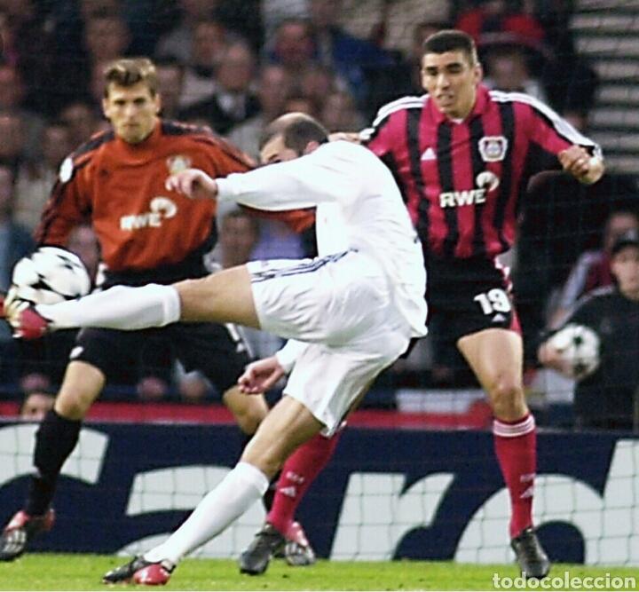 Coleccionismo deportivo: Entrada final champions Glasgow 2002 Real Madrid Bayer Leverkusen - Foto 2 - 136168854