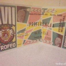 Coleccionismo deportivo: ENTRADA DE FUTBOL. Lote 139480350