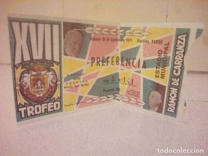Coleccionismo deportivo: ENTRADA DE FUTBOL - Foto 3 - 139480350