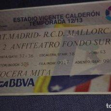 Coleccionismo deportivo: ATLETICO DE MADRID-REAL MALLORCA. Lote 139828174