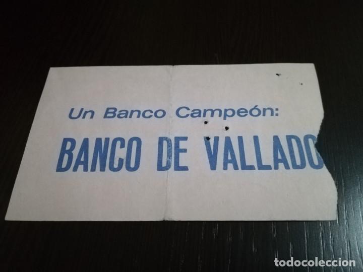 Coleccionismo deportivo: ENTRADA PARTIDO ATLETICO DE MADRID - REAL MADRID EN EL VICENTE CALDERÓN. AÑOS 80. - Foto 2 - 146635874
