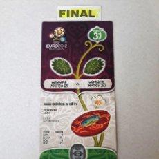 Coleccionismo deportivo: FINAL EURO 2012. Lote 147567674