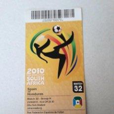 Coleccionismo deportivo: ENTRADA MUNDIAL 2.010. Lote 147570938