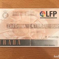 Coleccionismo deportivo: ESPAÑOL-FEYENOORD 15-10-1996 COPA DE LA UEFA. Lote 148083797