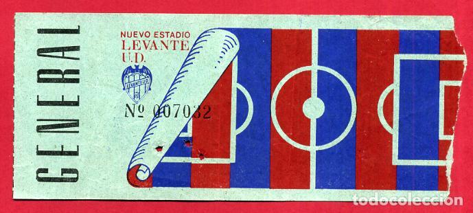 ENTRADA DE FUTBOL , LEVANTE UD , ORIGINAL , ET3847 (Coleccionismo Deportivo - Documentos de Deportes - Entradas de Fútbol)