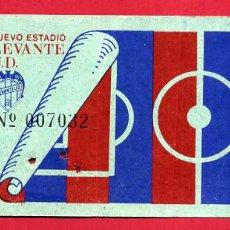 Coleccionismo deportivo: ENTRADA DE FUTBOL , LEVANTE UD , ORIGINAL , ET3847. Lote 149838434