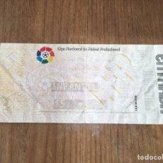 Coleccionismo deportivo: R5757 ENTRADA TICKET FUTBOL REAL OVIEDO 0-0 BARCELONA LIGA TEMPORADA 1994 1995. Lote 155837342