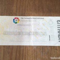 Coleccionismo deportivo: R5758 ENTRADA TICKET FUTBOL ESPAÑOL ESPANYOL 2-3 BARCELONA COPA DEL REY TEMPORADA 1995 1996. Lote 155837926