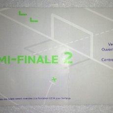 Coleccionismo deportivo: ENTRADA FUTBOL UEFA BARCELONA SALZBURGO 2017. Lote 156315621