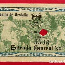 Coleccionismo deportivo: ENTRADA FUTBOL VALENCIA CF MESTALLA MALLORCA , ANTIGUA , ORIGINAL , EF3520. Lote 158423386