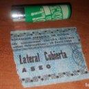 Coleccionismo deportivo: ENTRADA STADIUM METROPOLITANO, ENERO 1936, PARTIDO INTERNACIONAL ESPAÑA - AUSTRIA, FEF. Lote 159746642