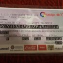 Coleccionismo deportivo: ENTRADA ENTRADAS FOOTBALL TICKET REAL VALLADOLID ALBACETE BALOMPIE 17 18 ZORRILLA JOSE. Lote 160050818