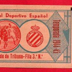 Coleccionismo deportivo: ENTRADA FUTBOL, TEMPORADA 1944 1945 , CLUB DEPORTIVO MALLORCA , ORIGINAL , EF2979. Lote 161690186