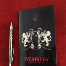 Collectionnisme sportif: WELCOME PACK ENTRADA FINAL UEFA CHAMPIONS LEAGUE BARCELONA MANCHESTER UNITED 2011 WEMBLEY. Lote 165101878