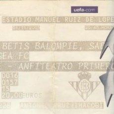 Coleccionismo deportivo: ENTRADA REAL BETIS-CHELSEA.01/11/2005.CHAMPIONS LEAGUE.. Lote 165827198