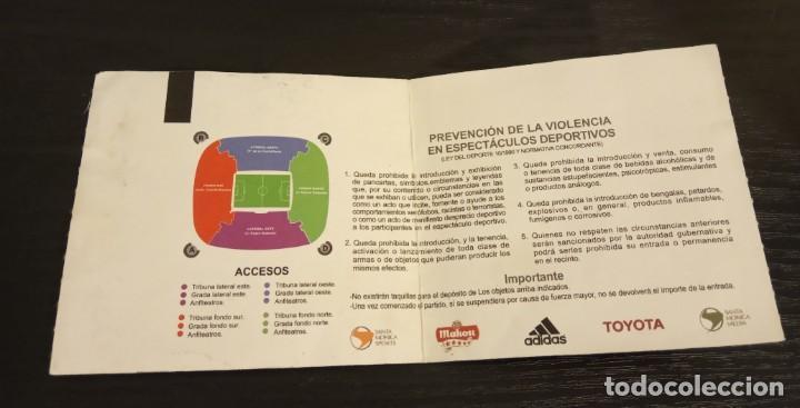 Coleccionismo deportivo: -ENTRADA FUTBOL FINAL COPA REY 2006 R. ZARAGOZA - ESPAÑOL + 1/8 , 1/4 Y 1/2 FINAL - Foto 9 - 167630412