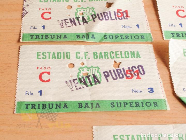 Coleccionismo deportivo: Entradas C.F. Barcelona - Años 60 - Foto 2 - 167949448