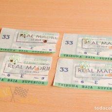 Coleccionismo deportivo - Entradas CF Barcelona vs Real Madrid - 1962 - 167949816