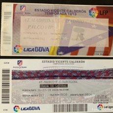 Coleccionismo deportivo: 2 ENTRADAS FUTBOL A.T.MADRID VS F.C.BARCELONA. Lote 168252428