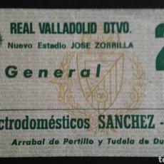 Coleccionismo deportivo: ENTRADA FUTBOL VALLADOLID SPORTING GIJON 84/85. Lote 169563004