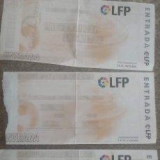 Coleccionismo deportivo: 3 ENTRADAS DE FUTBOL SALAMANCA MURCIA ALBACETE REAL MADRID (LEER DESCRIPCIÓN). Lote 169885416