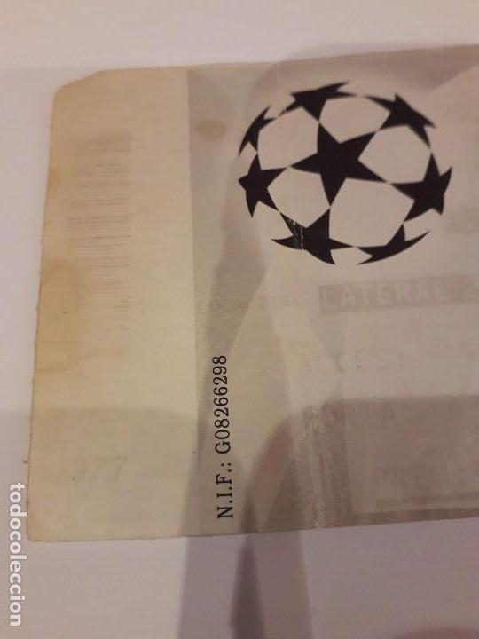 Coleccionismo deportivo: ENTRADA CHAMPIONS.F.C.BARCELONA VS BAYER DE MUNICH.1998 - Foto 5 - 170340188