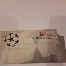 Coleccionismo deportivo: ENTRADA CHAMPIONS.F.C.BARCELONA VS BAYER DE MUNICH.1998. Lote 170340188