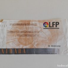 Coleccionismo deportivo: ENTRADA PARTIDO DE FÚTBOL LIGA - FC BARCELONA / ATLÉTICO DE MADRID (CAMP NOU, LIGA 1996-97). Lote 175898128