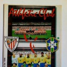 Coleccionismo deportivo: REVISTA / PROGRAMA (31-5-1998): ATHLETIC CLUB - BRASIL (PARTIDO DEL CENTENARIO) SAN MAMÉS, BILBAO. Lote 176995425