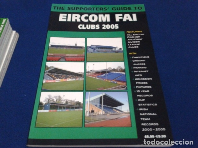 Coleccionismo deportivo: LIBRO THE SUPPORTERS´GUIDE TO ( EIRCOM FAI CLUBS 2005 ) 96 PAGINAS - Foto 1 - 177651554