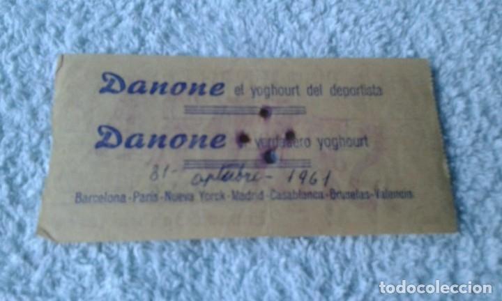 Coleccionismo deportivo: ENTRADA CAMPO MESTALLA 1961 ALBACETE BALOMPIE -MESTALLA - Foto 2 - 178155665