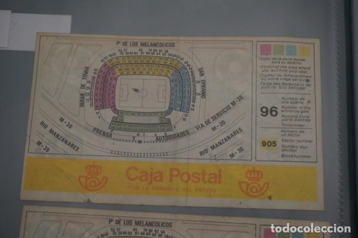 Coleccionismo deportivo: ENTRADA COPA MUNDIAL FIFA ESPAÑA 82 SIN CORTAR / VICENTE CALDERON 28 JUNIO / 2º FASE - Foto 2 - 178557795