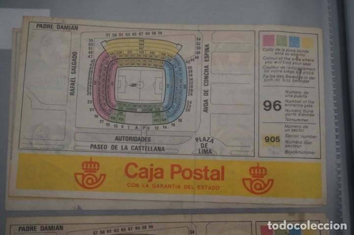 Coleccionismo deportivo: ENTRADA COPA MUNDIAL FIFA ESPAÑA 82 SIN CORTAR / SANTIAGO BERNABEU 29 JUNIO / 2º FASE - Foto 2 - 178558417