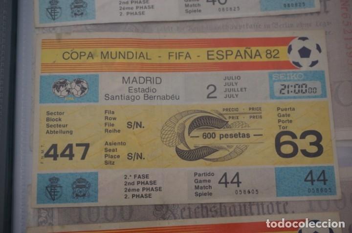 ENTRADA COPA MUNDIAL FIFA ESPAÑA 82 SIN CORTAR / SANTIAGO BERNABEU 2 JULIO / 2º FASE (Coleccionismo Deportivo - Documentos de Deportes - Entradas de Fútbol)
