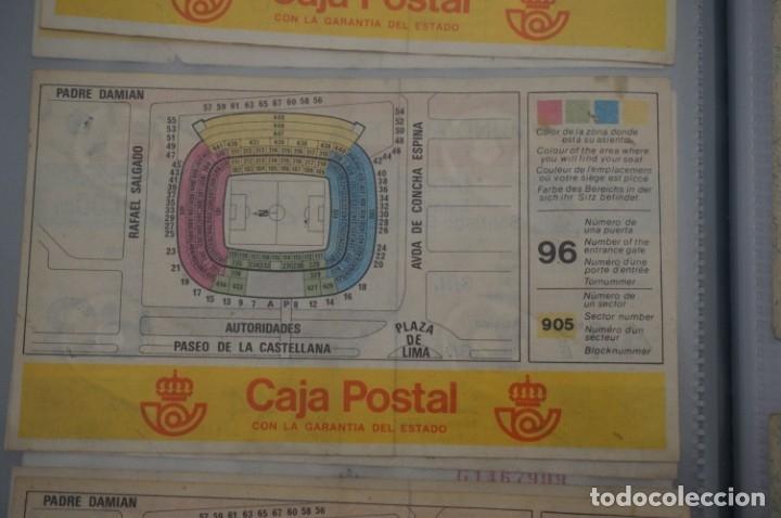 Coleccionismo deportivo: ENTRADA COPA MUNDIAL FIFA ESPAÑA 82 SIN CORTAR / SANTIAGO BERNABEU 2 JULIO / 2º FASE - Foto 2 - 178559085