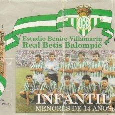Coleccionismo deportivo: ENTRADA REAL BETIS-UD LAS PALMAS.. Lote 179230861