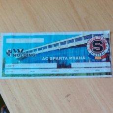 Coleccionismo deportivo: ENTRADA SPARTA PRAGA-REAL SOCIEDAD, COPA UEFA. Lote 183407117