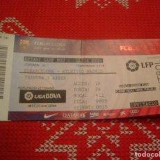 Coleccionismo deportivo: (LLL)-ENTRADA CAMP NOU TEMPORADA 15-16 TRIBUNA- F.C.BARCELONA-AT.MADRID . Lote 190569248