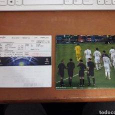 Coleccionismo deportivo: LOTE 2 ENTRADAS PARTIDO DE CHAMPIONS REAL MADRID/CSKA MOSKVA. 14.03.2012. MÁS 12 FOTOS ORIGINALES.. Lote 192879455