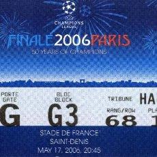 Coleccionismo deportivo: FINAL 2006 PARIS - BARCELONA VS ARSENAL. Lote 193387160